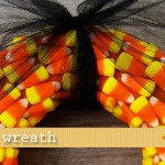 (20 crafty days of halloween) candy corn wreath