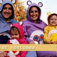 (20 crafty days of halloween) no-sew care bear costumes