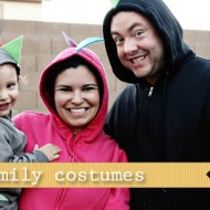 diy dino family costumes