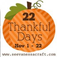 (22 thankful days) day 8