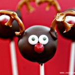 (20 crafty days of christmas) reindeer cake pops