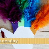 (tot school tuesday) handprint turkey colors