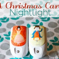 (20 crafty days of christmas) a christmas carol nightlight