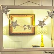 (20 crafty days of christmas) glitter holiday garland