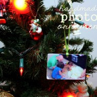 (20 crafty days of christmas) handmade photo ornament