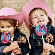(party) cowgirl photo shoot