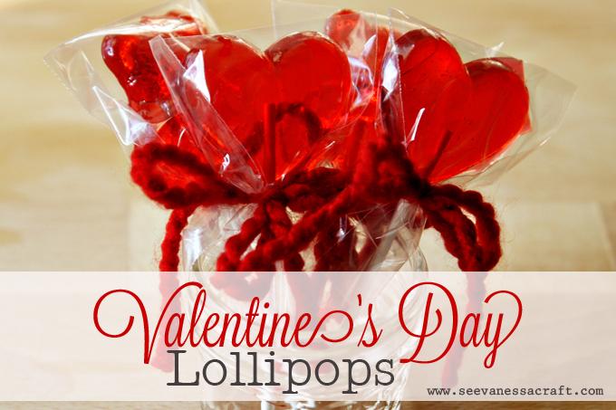 Diy Tutorial Valentine S Day Heart Lollipops See Vanessa Craft