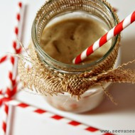 (recipe) peanut butter banana shake