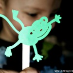(tot school tuesday) counting shadow puppets
