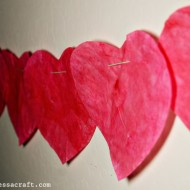 (tot school tuesday) valentine's day coffee filter hearts