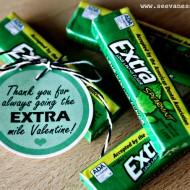 (printable) extra gum valentine