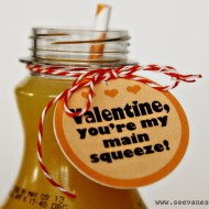 (printable) you're my main squeeze valentine