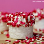 (diy tutorial) valentine's day marshmallow bites