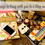 (blogging) 10 things to bring with you to a blog conference