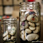(tot school tuesday) good behavior rock jar