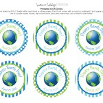 (printables) free earth day tags