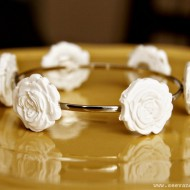 (diy tutorial) mod melts rose bracelet
