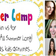 (summer camp) link up your summer crafts & activities