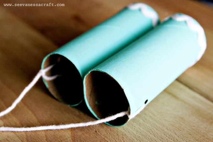 Tot School Tuesday Toilet Paper Roll Binoculars Kid Craft See