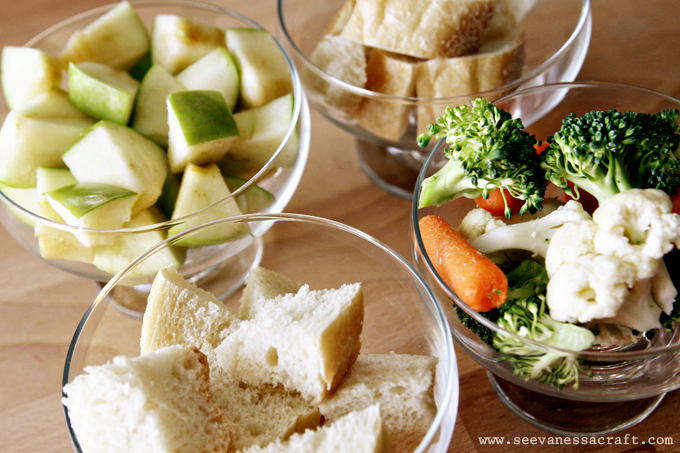 side dishes or salads for fondue