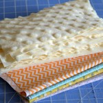 (diy tutorial) minky burp cloth sewing tutorial