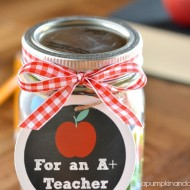 (printable) back to school teacher gift