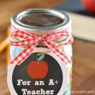 (printable) back to school teacher gift