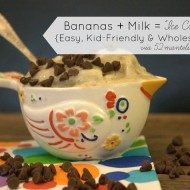 (tot school tuesday) kid-friendly banana ice cream recipe