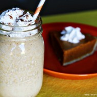 fall pumpkin pie shake recipe #choosesmart #shop