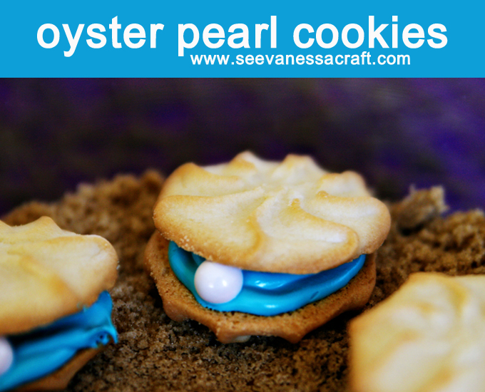 valentine's day preschool quotes - Edible Craft Ocean Oyster Pearl Cookies See Vanessa Craft