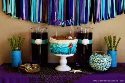 The Little Mermaid Disney Princess Party #DisneyPrincessPlay #Shop