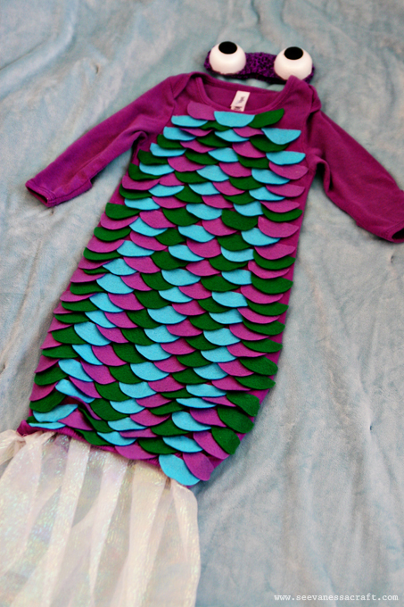20 crafty days of halloween diy baby fish costume see vanessa craft step solutioingenieria Gallery