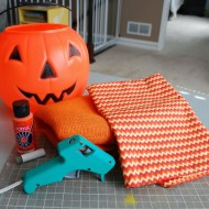 (20 crafty days of halloween) glammed up halloween treat bucket