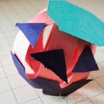 (20 crafty days of halloween) pumpkin paper craft
