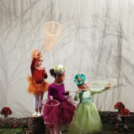 (20 crafty days of halloween) woodland sprite costumes from martha stewart