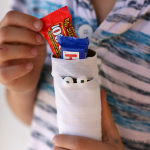(20 crafty days of halloween) mummy treat holders