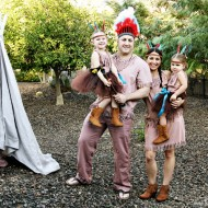 (20 crafty days of halloween) no-sew indian costumes