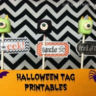 (20 crafty days of halloween) free spooky tag printables