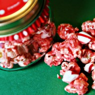 (recipe) holiday candy cane butter popcorn