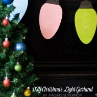 (handmade holiday party) diy party decorations