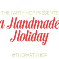 (handmade holiday party) diy gift wrap & holiday banner