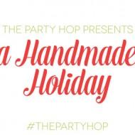 (handmade holiday party) diy gift wrap & holiday banner