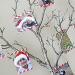 (20 crafty days of christmas) striped straw christmas ornament