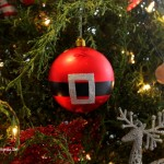 (20 crafty days of christmas) diy santa ornament