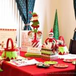 (20 crafty days of christmas) diy christmas party centerpiece