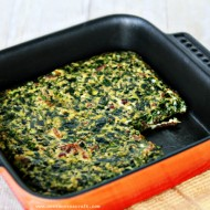 (recipe) bacon, egg and spinach casserole