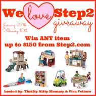 (giveaway) we love step2 $150 giveaway