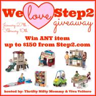 (giveaway) we love step2 $150 giveaway