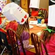 (party) preschool rainbow valentine's day party