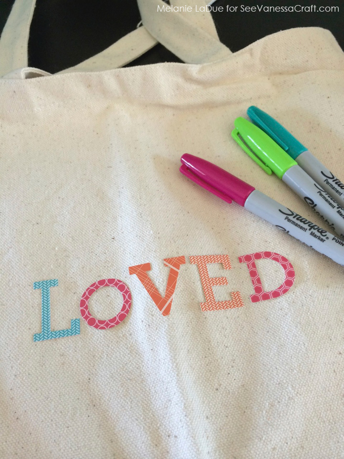 craft tutorial) personalized canvas bags - See Vanessa Craft